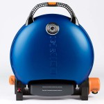 Газовый гриль O-GRILL 700T синий (в комплекте адаптер тип А)