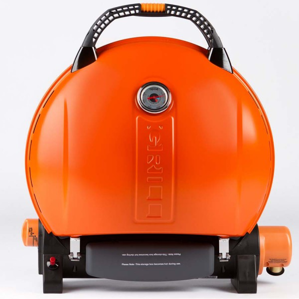 Газовый гриль O-GRILL 800T оранжевый (в комплекте адаптер тип А)